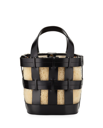 Cooper Caged Canvas Tote Bag