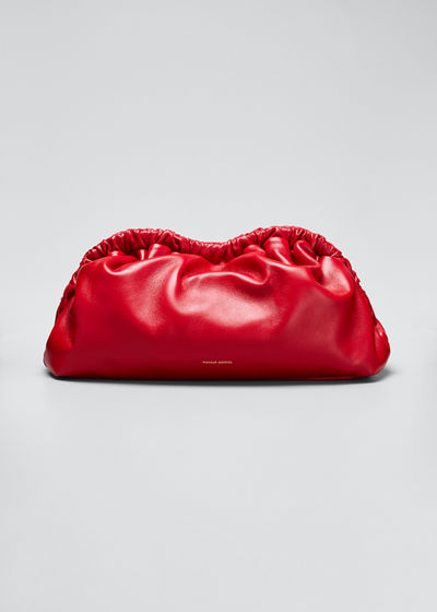 Soft Ruffled Clutch Bag
