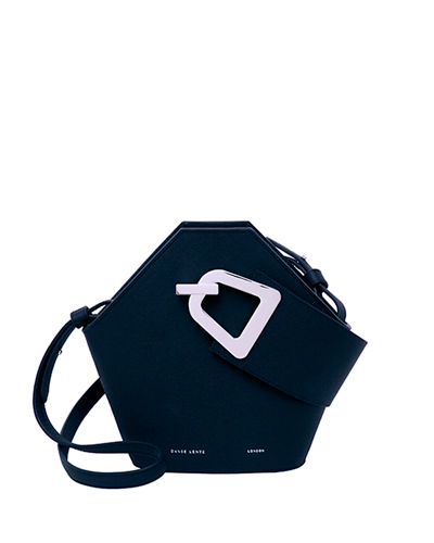 Mini Johnny Leather Hexagon Shoulder Bag