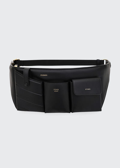 dedda2de2eb6 Leather Pouch Belt Bag Quick Look. Fendi