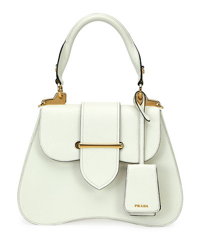 a636704f427a0e Prada Small Prada Sidonie Top-Handle Tote Bag