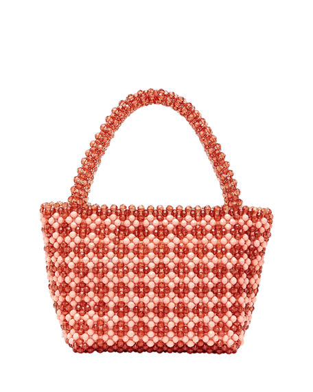 Loeffler Randall MINA BEADED TOTE BAG