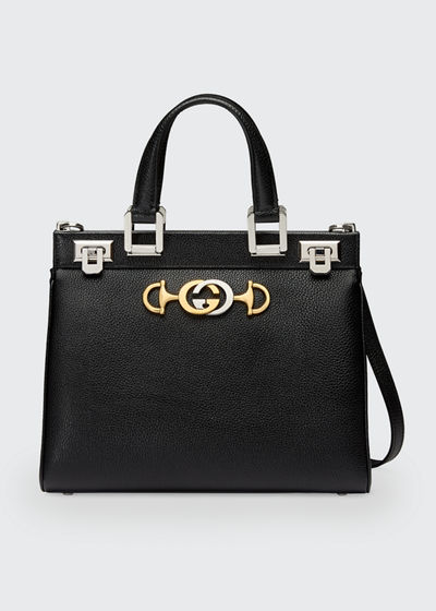 Gucci Zumi Small Grain Top Handle Bag