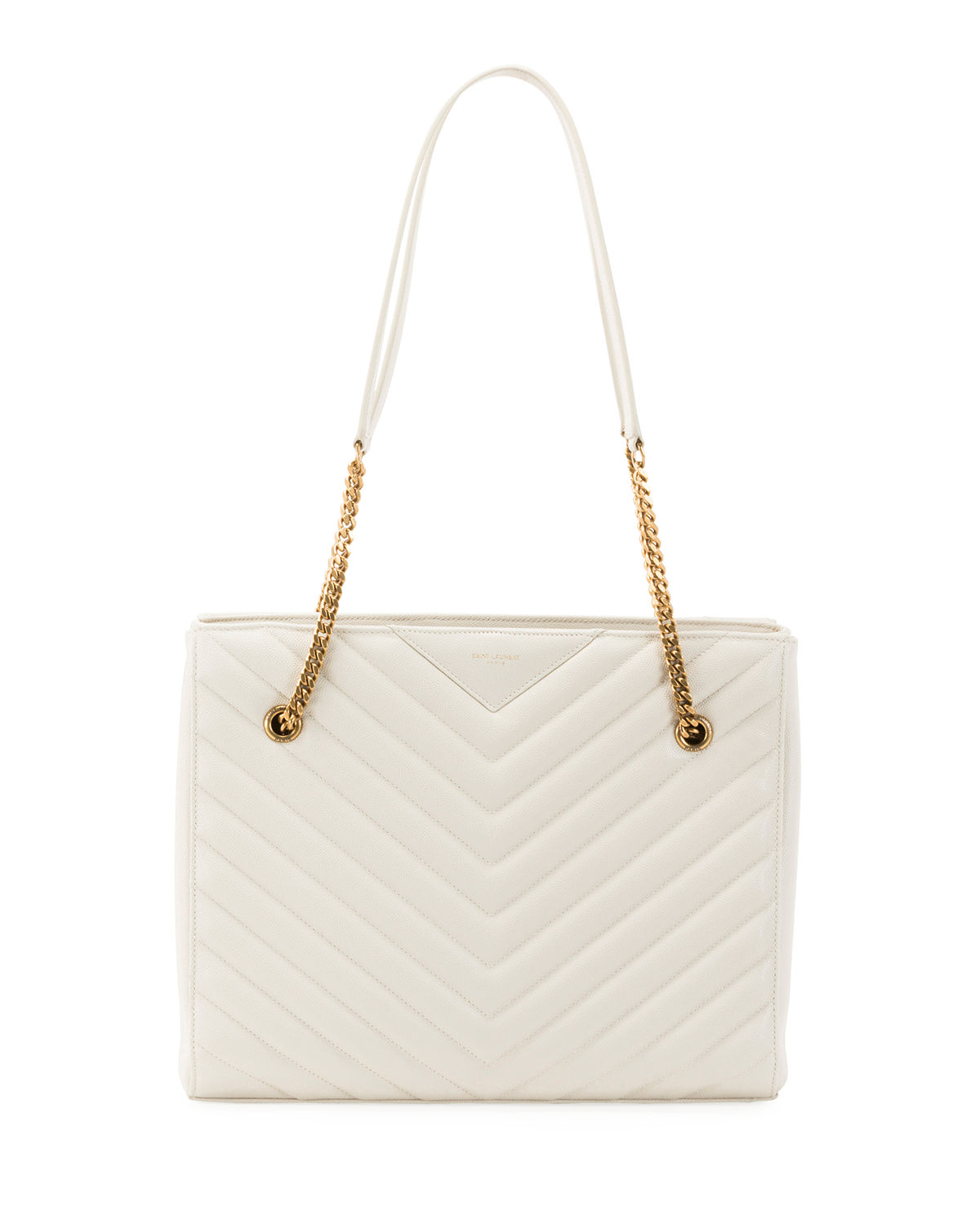 Saint Laurent Shoulder TRIBECA MEDIUM DOUBLE CHAIN SHOULDER BAG