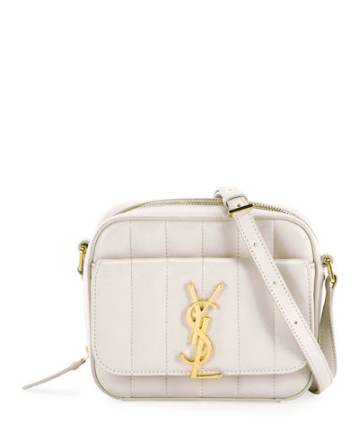 e2fbfa7c3602 Vicky Toy Monogram YSL Patent Crossbody Camera Bag Quick Look. WHITE   FUCHSIA. Saint Laurent