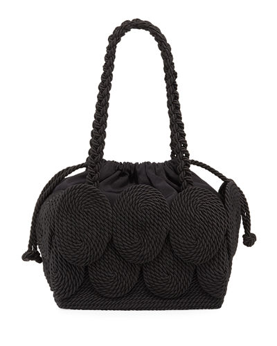 Cha Cha Rope Square Tote Bag
