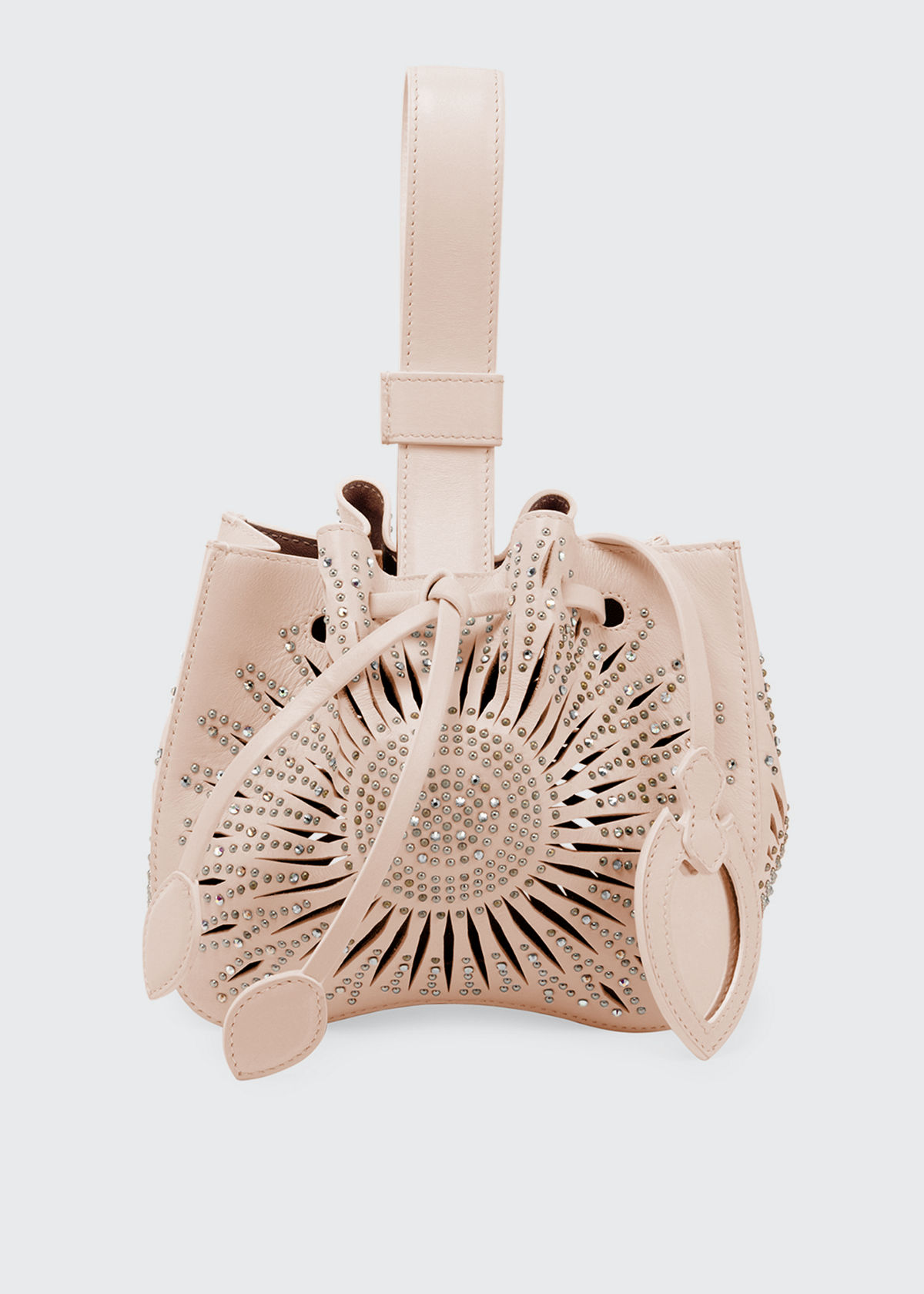 Alaïa Bags ROSE MARIE MINI BUCKET BAG