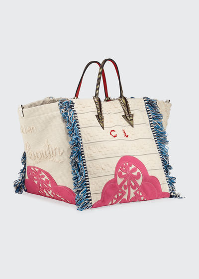 Portugaba Fabric Paris Tote Bag