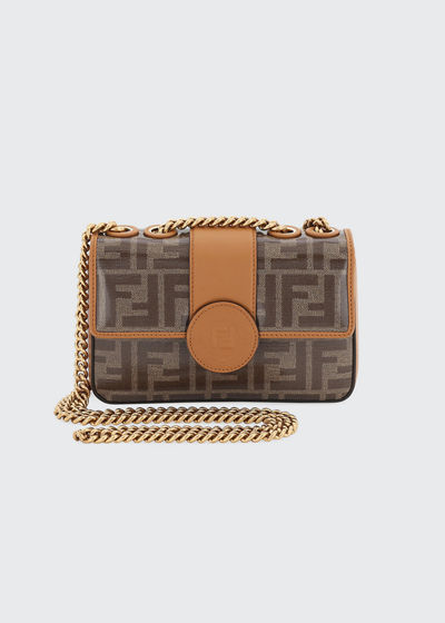 1974 Small Calf Grace FF Crossbody Bag