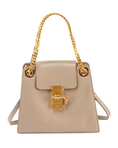 Annie Smooth Shiny Shoulder Bag
