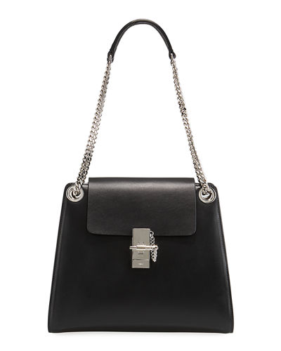 Annie Medium Leather Shoulder Bag