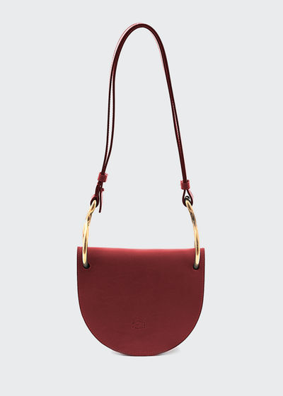 Leather Consuelo Small Crossbody Bag