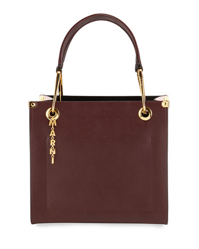 Grip Saffiano Top Handle Bag