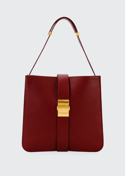 Marie Napa Leather Shoulder Bag