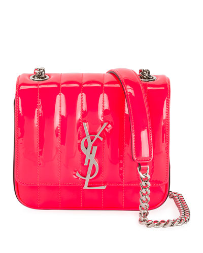 Vicky Patent Leather Mini Shoulder Bag
