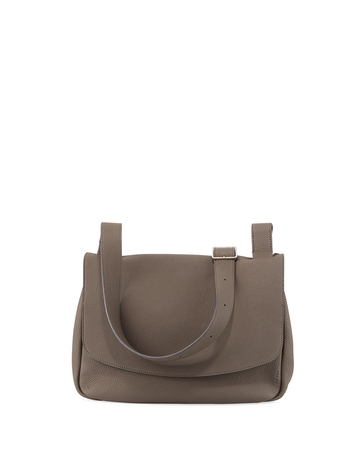 The Row SMALL MAIL BAG IN FINE GRAIN LEATHER