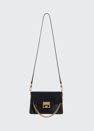 GV3 Small Calf Box Shoulder Bag