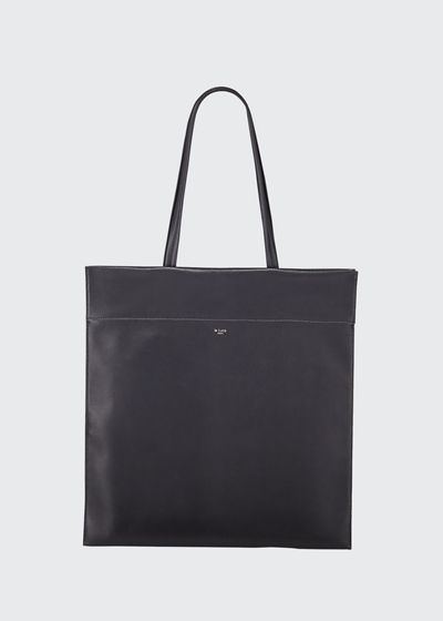 Leather Totem Tote Bag