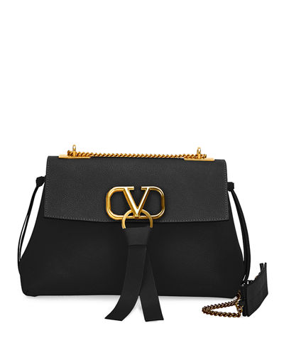 V-Ring Small Chain Shoulder Bag