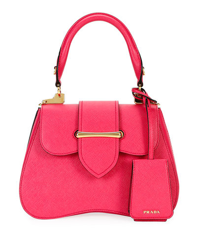 8018c0257b71 Prada Leather Top Handles Bag | bergdorfgoodman.com