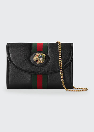 Rajah Mini Leather Crossbody Bag