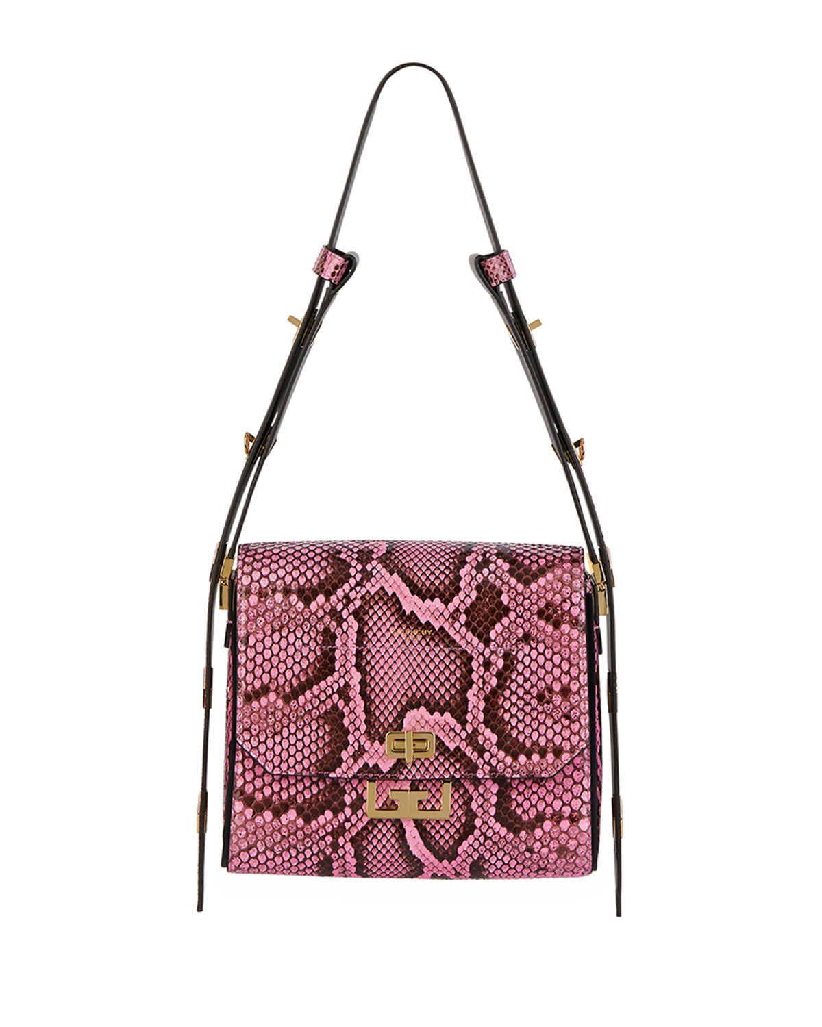Givenchy Shoulder EDEN MEDIUM PYTHON SHOULDER BAG