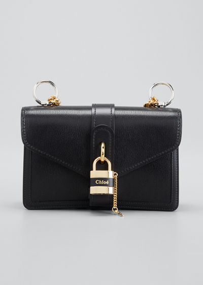 Aby Chain Leather Shoulder Bag