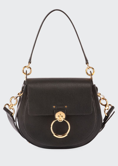 Tess Medium Grained Crossbody Bag