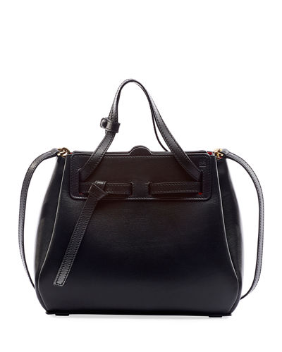 Lazo Mini Leather Top-Handle Bag