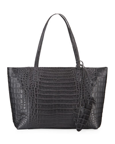 Erica Crocodile Tote Bag