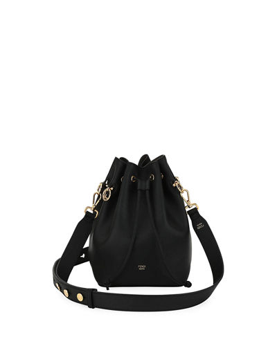 Mon Tresor Grande Calf Leather Bucket Bag