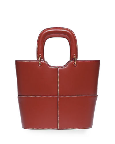 Leather Andy Tote Bag