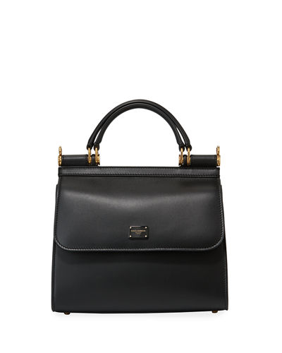 Sicily Leather Top Handle Bag