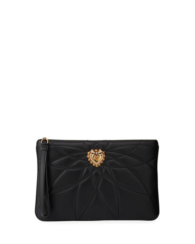 Devotion Quilted Clutch Bag