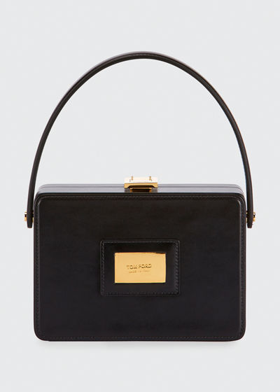 Palmellato Leather Box Bag