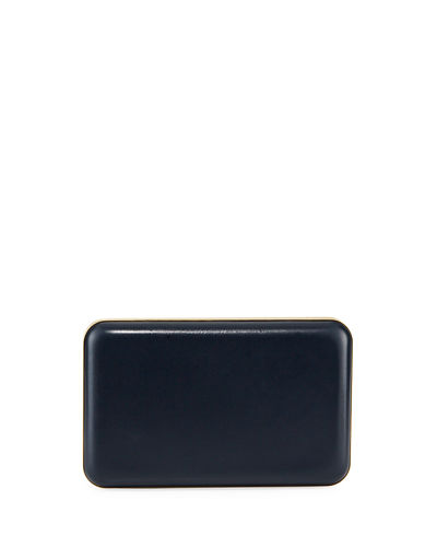 Molded Soft Box Clutch Bag