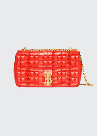 Lola Small Quilted Lambskin Crossbody Bag