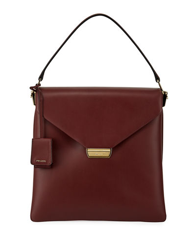 Ingrid New Calf Double Gussets Top Handle Bag