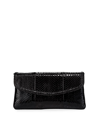 Tracy Snakeskin Small Clutch Bag