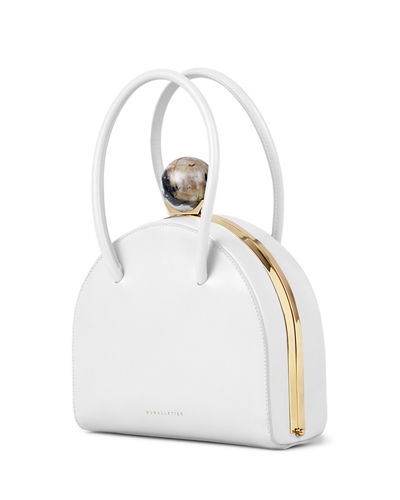 Francoise Saffiano Top Handle Bag