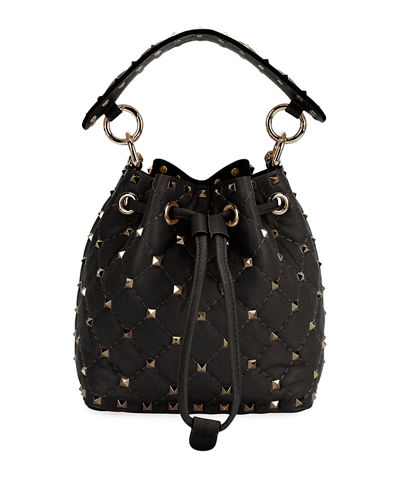 Rockstud Spike Mini Bucket Bag