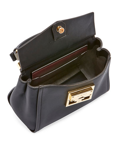 Mystic Mini Calfskin Top-Handle Bag