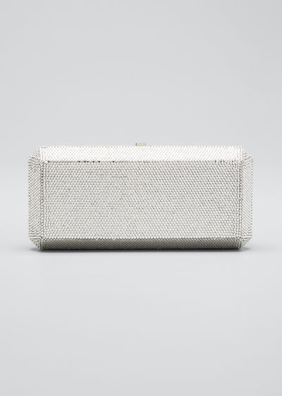 Slim Rectangle Fullbead Clutch Bag