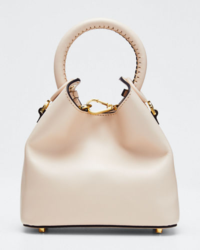 Madeleine Mini Leather Tote Bag