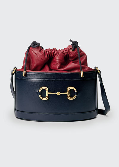 1955 Morsetto Mini Horsebit Leather Shoulder Bag
