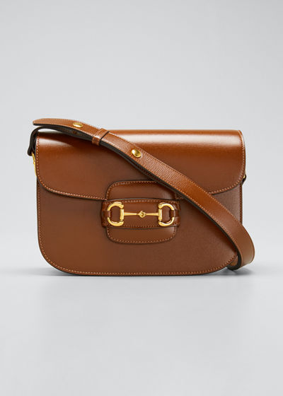 1955 Horsebit Small Leather Shoulder Bag