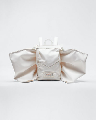 Mini Fabric Backpack with Wings