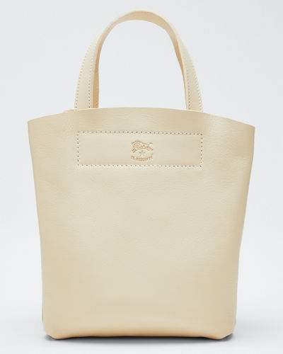 Giglio Soft Leather Mini Tote Bag
