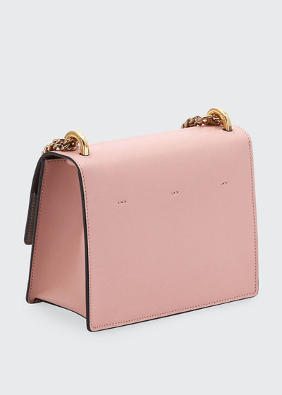 Kan U Small Matte Grace Leather Crossbody Bag