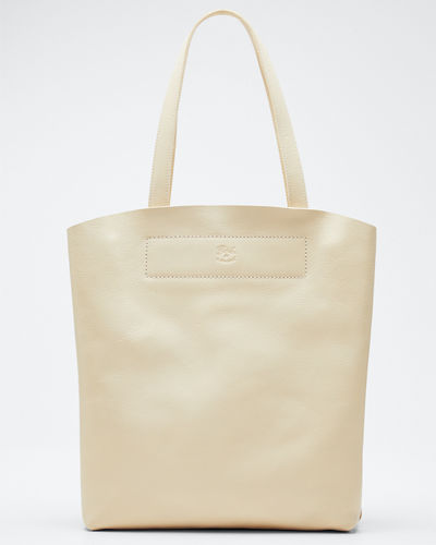 Giglio Soft Leather Tote Bag